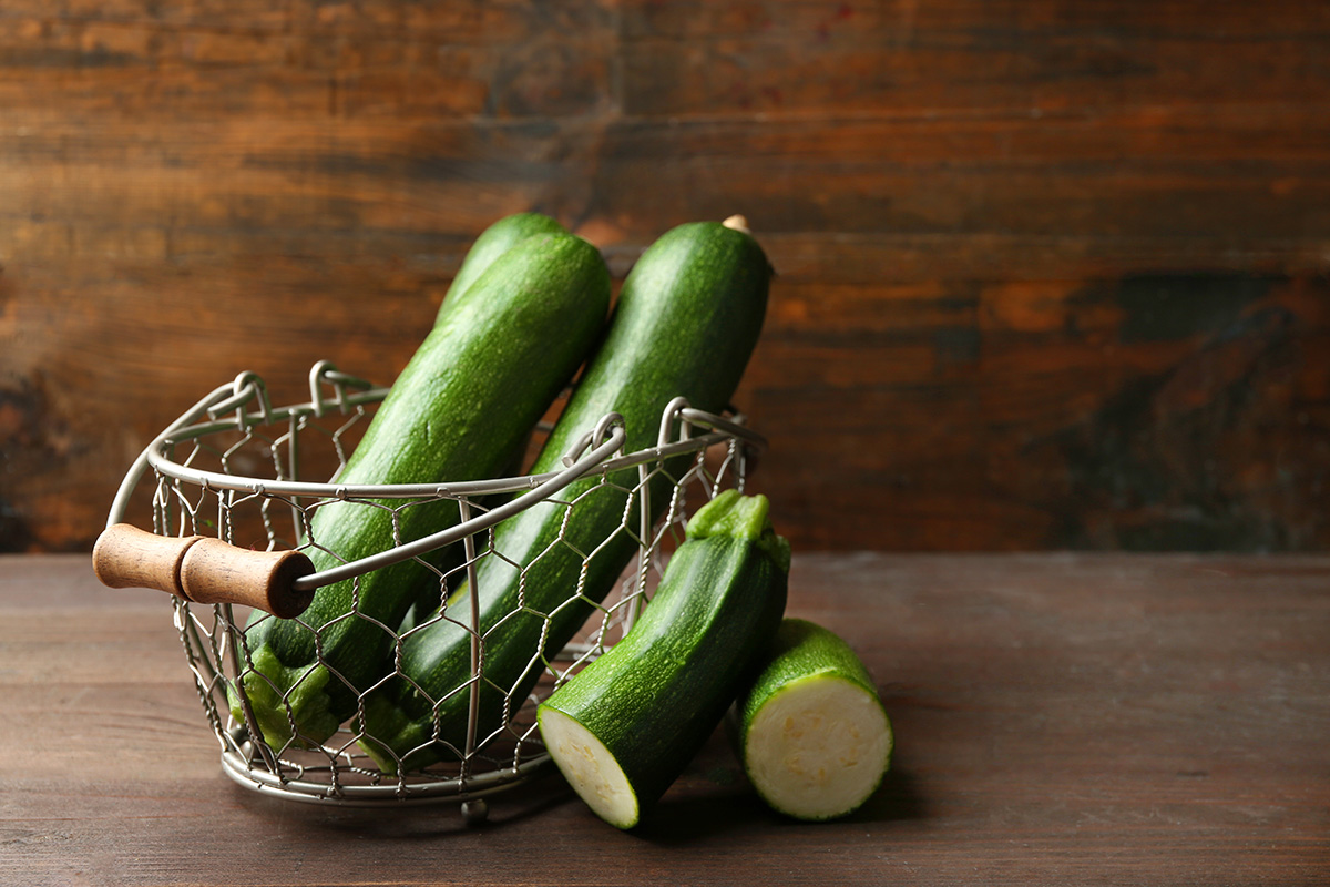 Il Gigante Centri Commerciali e cibi light per l'estate: le zucchine