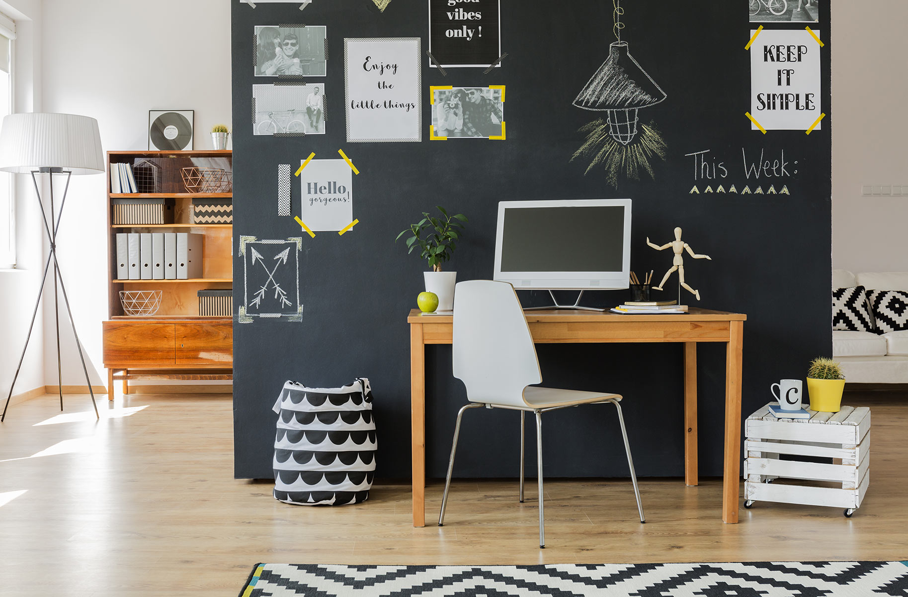Il gigante centri commerciali come creare home office
